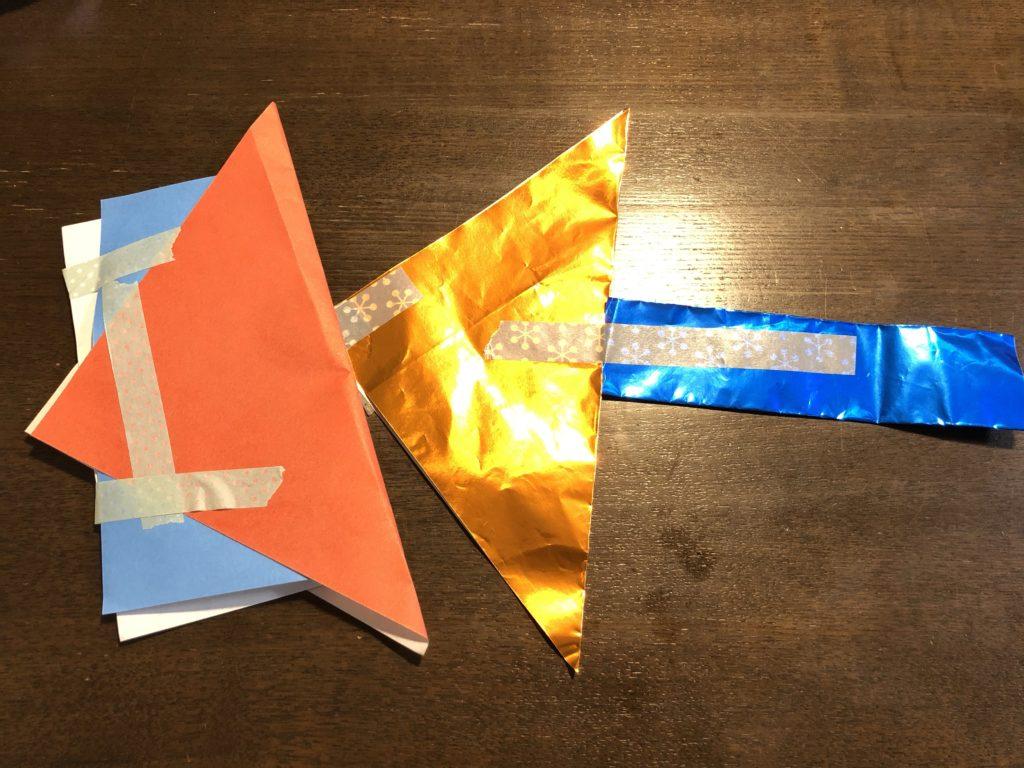 折り紙_息子の作品
